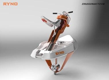 Ryno es un concepto de embarcación eléctrica de hidroplano