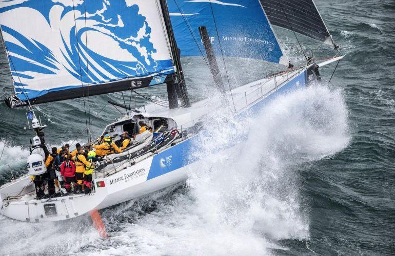 Turn the Tide on Plastic evita el farolillo rojo en la última In-Port de la Volvo Ocean Race