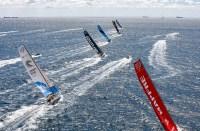 Comienzo de la Etapa 11 Volvo Ocean Race
