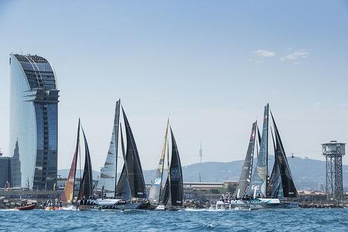 Las Extreme Sailing Series™ se preparan en Barcelona