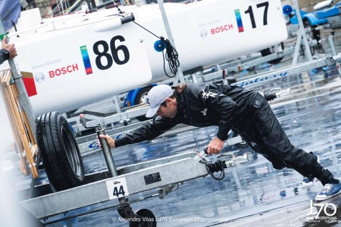Campeonato de Europa de J70 VIGO RECIBE A LA FLOTA