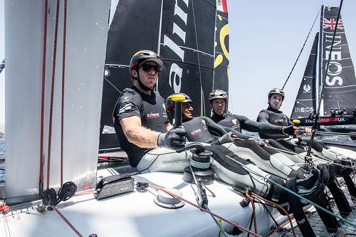 Alinghi vence el cuarto Acto de las Extreme Sailing Series