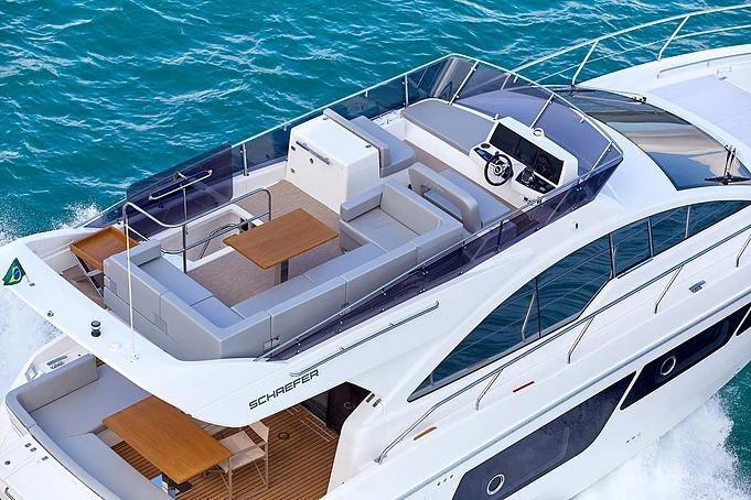 barco Schaefer 510 yacht Schaefer