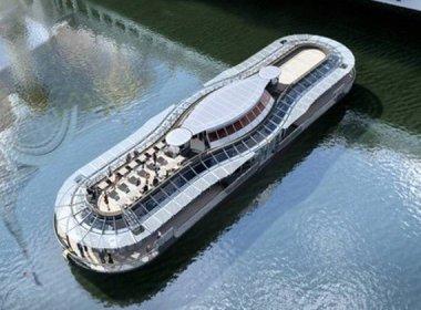 El restaurante flotante que Alain Ducasse abrirá en París