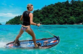 Jet Surf, tablas motorizadas de Surf