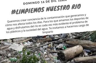 #limpiemos nuestro rio