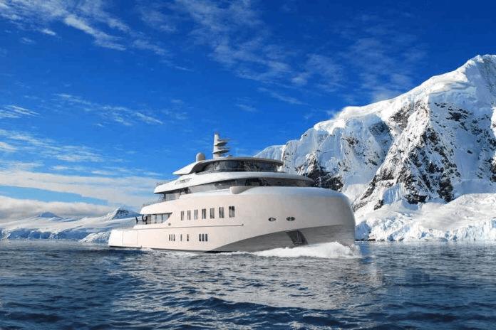 Ranger 68 m. Explorer yacht.