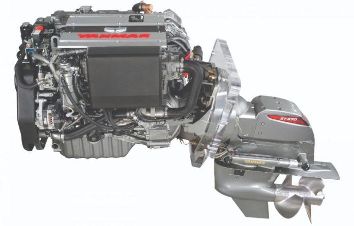 Yanmar 4LV Sterndrive