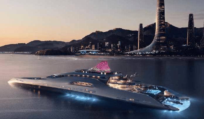 Mercedes-Benz Future World Oasis Yacht