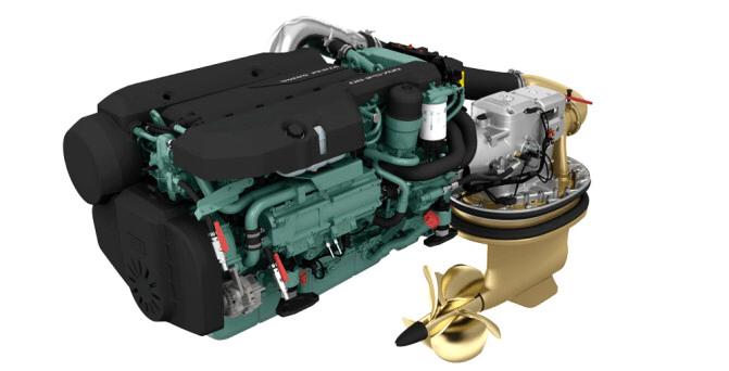 Motor Volvo Penta D8 Diesel