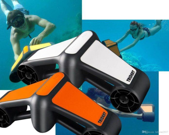 Scooter submarino