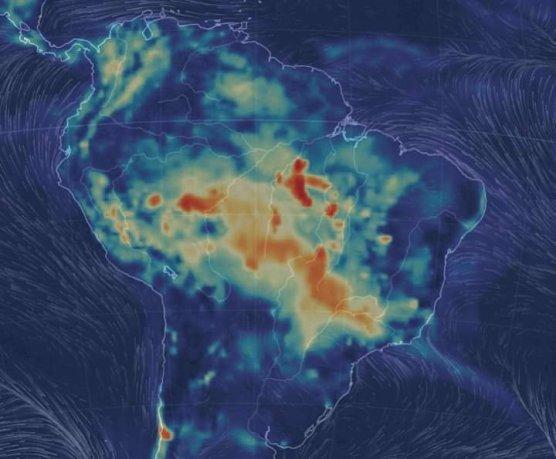 Incendio en Amazonas