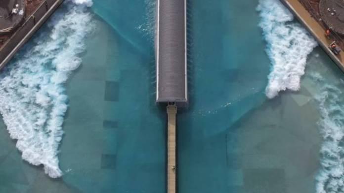Wavegarden Cove , olas artificiales.