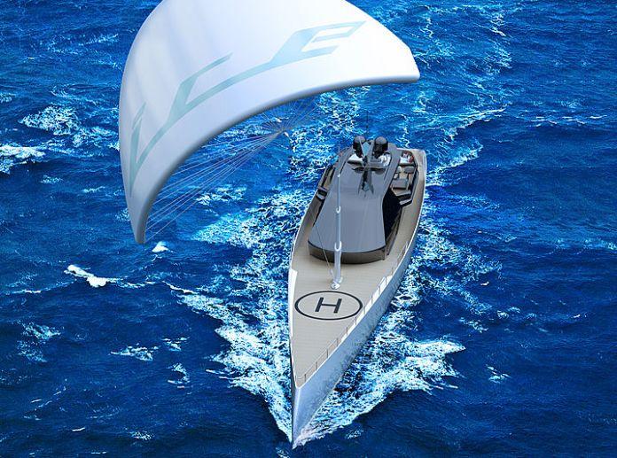Ice Kite , un superyate