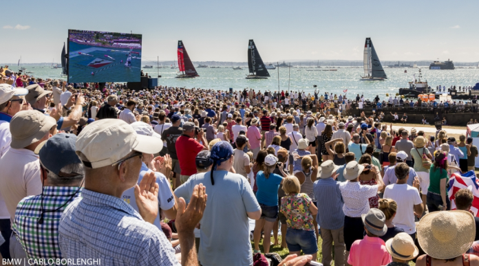 America´s Cup . La Emirates ACWS Porthsmouth Experience