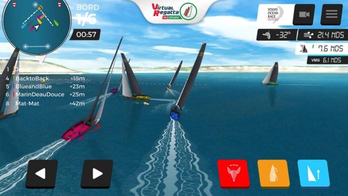 Virtual Regatta . Tiempo de e-sailing