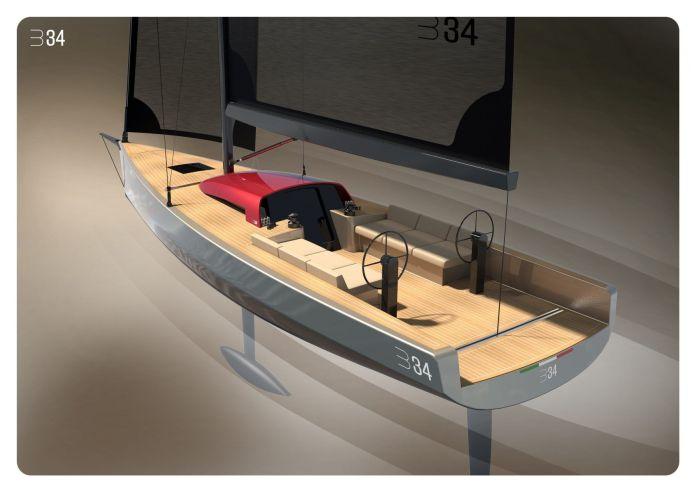 Velero B34 luca brenta yachts