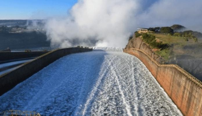 Más agua para el río Paraná.