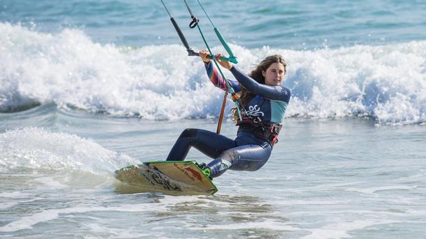 Kitesurf Gisela Pulido