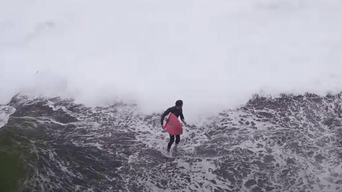 Surf. Cómo no entrar al mar desde las rocas