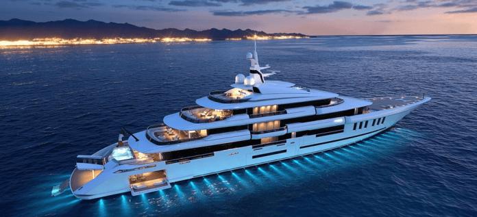 Isa Yachts de 80 metros