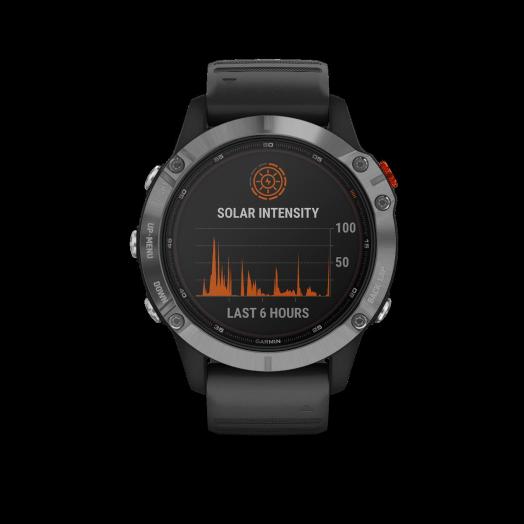 Nuevos relojes Garmin con carga solar