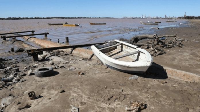 Nueva bajante del río Paraná