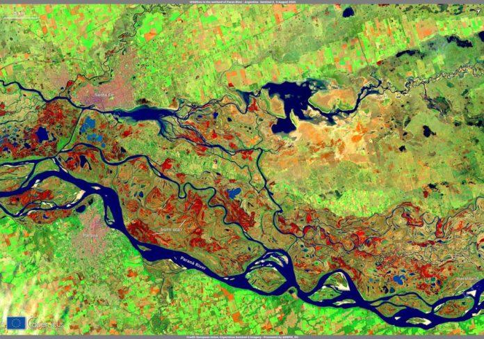 seca y los incendios del Delta del Paraná