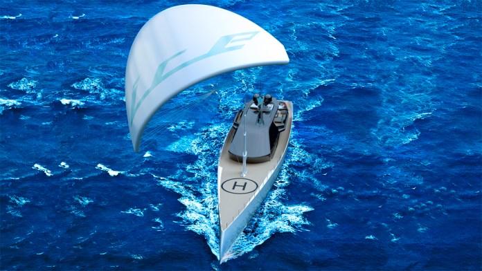 Superyate Ice Kite