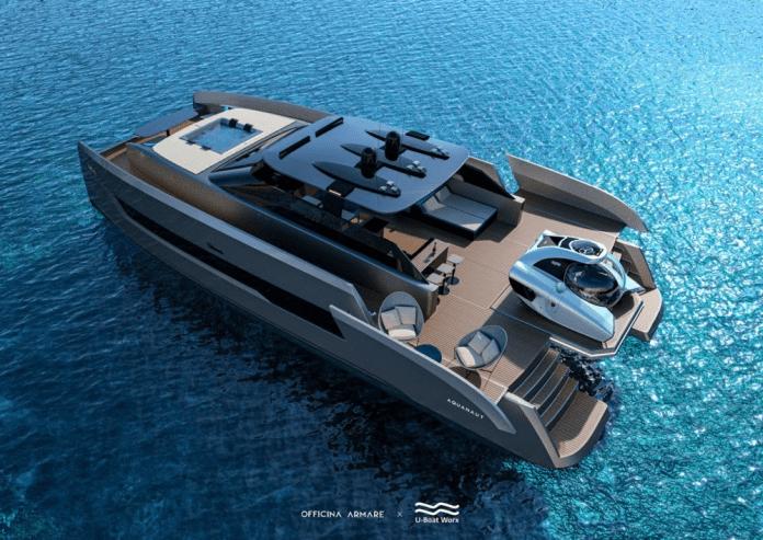 Aquanaut, catamarán