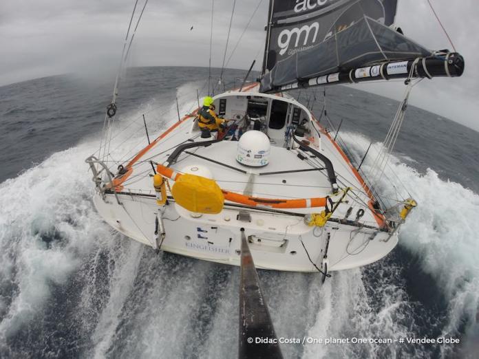 Didac Costa por la Vendée Globe