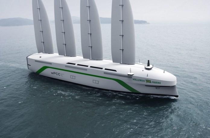 Oceanbird, un velero gigante buque de carga