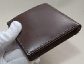 二つ折り財布ボックスコイン