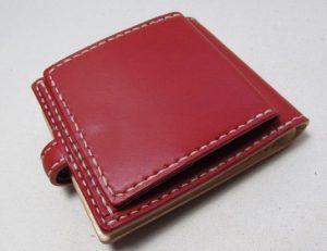 赤い財布ボックスコイン