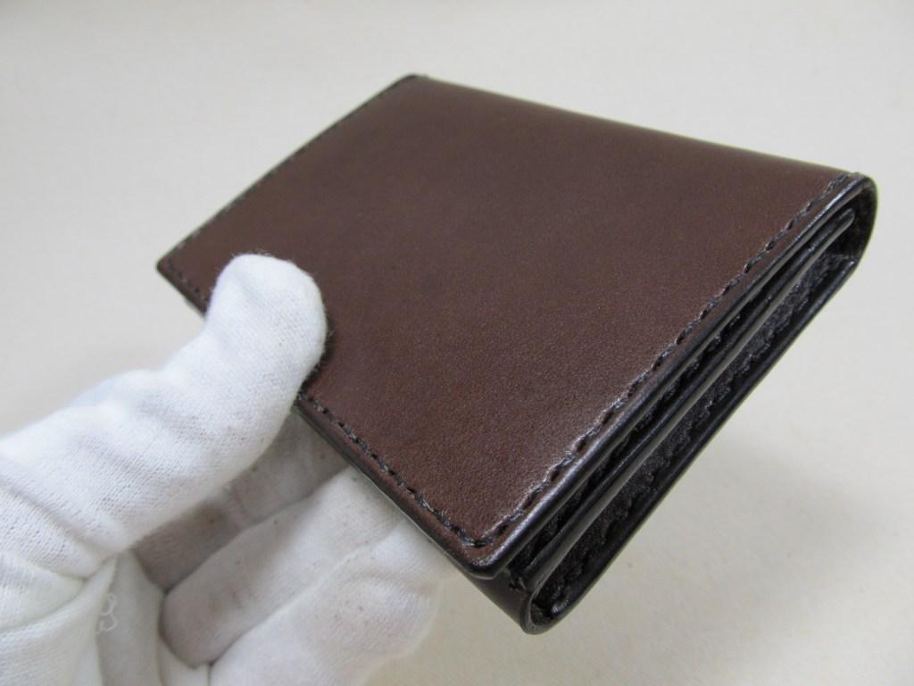 税理士証票ケース横開き+通しマチ名刺入れ 190716