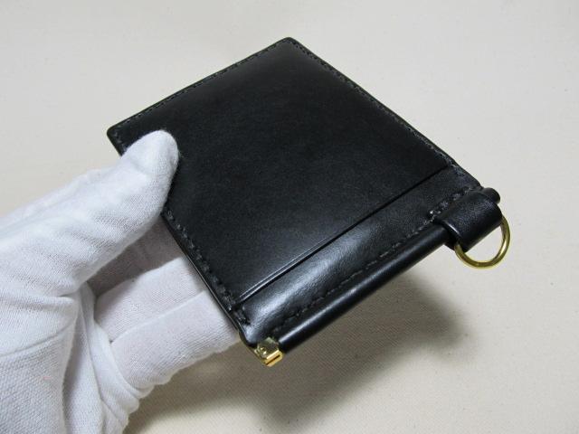 マネークリップオーダー黒両側3連 1901233