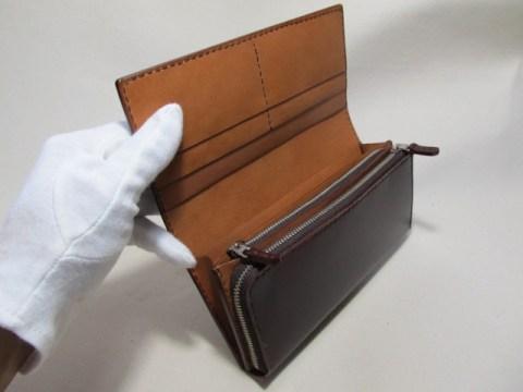 コードバン長財布 190312
