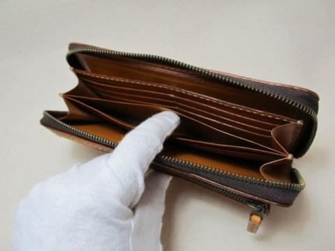 ラウンドファスナー長財布スマホ入れちゃお全開ボックスコイン 190314フリーポケット