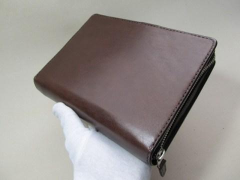 ラウンドファスナーシステム手帳バイブルサイズ 190502
