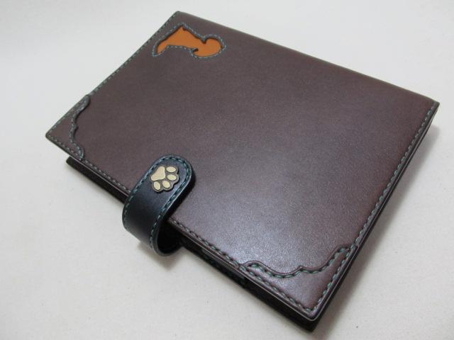 手帳カバーA5サイズ2冊用191101 c