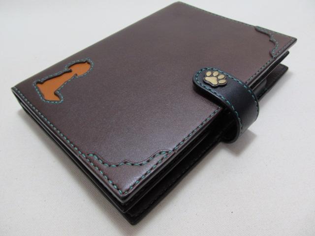 手帳カバーA5サイズ2冊用191101 e