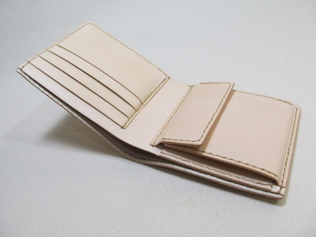 二つ折り財布内側向き小銭入れ200503