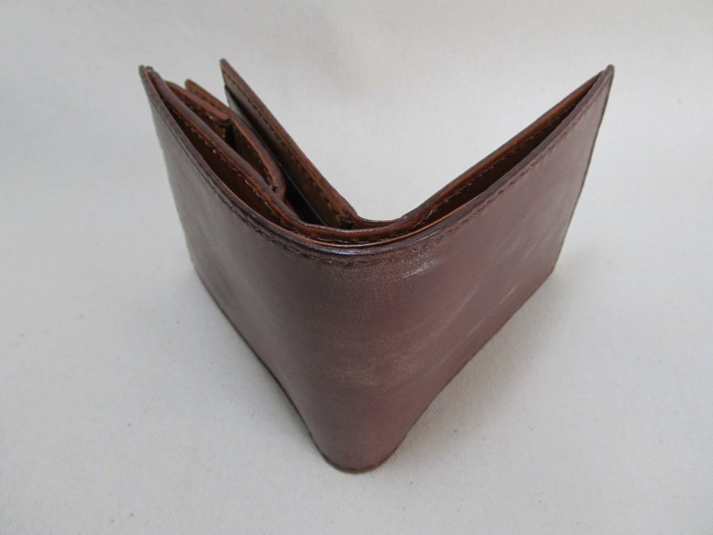 二つ折り財布ボックスコイン4連カード入れ3面210616ブライドルレザー