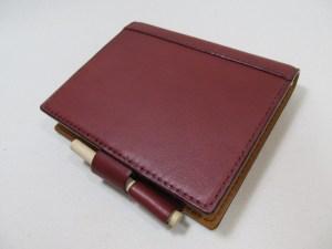 システム手帳フランクリンポケットサイズ 210716レザー