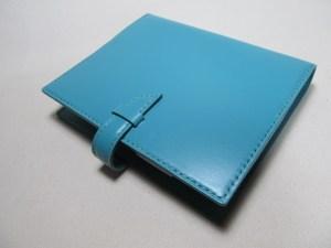 システム手帳B6サイズターコイズ210802