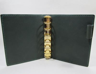 本ヌメ革システム手帳ミニサイズ6穴20mm