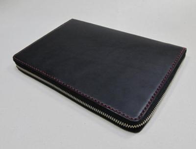 コクヨのジブン手帳カバー黒革