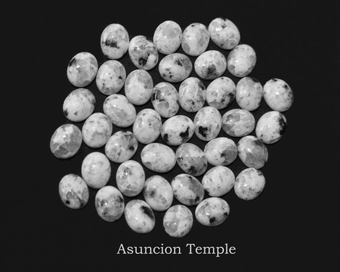 Temple stones from the LDS Asuncion Temple by Nauvoo Remembered jewelry