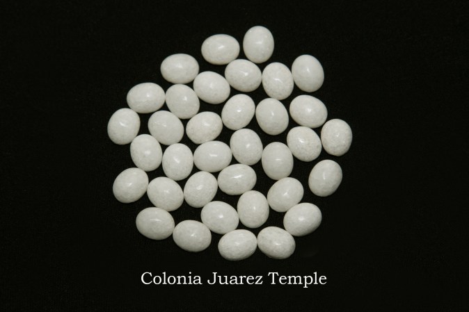 Temple stones from the LDS Colonia Juarez Temple by Nauvoo Remembered jewelry