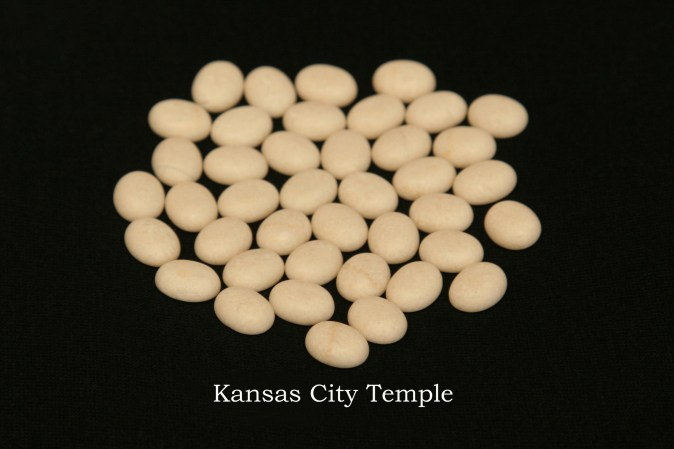 Temple stones from the LDS Kansas City Temple by Nauvoo Remembered jewelry